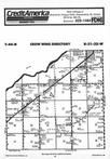Map Image 025, Crow Wing County 1987 Published by Farm and Home Publishers, LTD